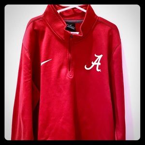 Boys Nike Alabama Crimson Tide 1/4 Zip Pullover